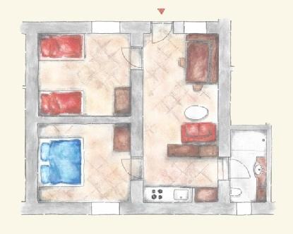 corte-plattegrond liggend